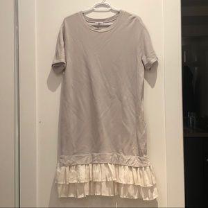 Sweater dress | Grey | winter dress